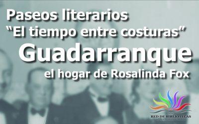 El 17 de septiembre se retoman los paseos literarios sobre Rosalinda Fox