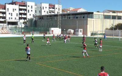 Derrota del CD San Roque en su estreno de temporada ante la UD Roteña (0-1)