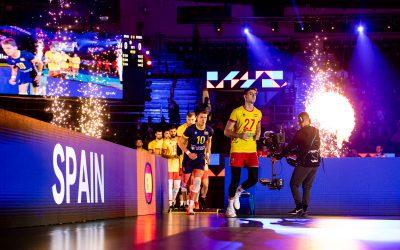 Andrés Villena y la selección española se despiden del Europeo de Voleibol al caer ante Rusia