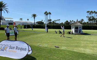 Covadonga Basagoiti y Juan Álvarez-Rendueles vencen en la sexta prueba regular del Sotogrande Golf Challenge