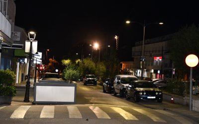 Mejora de la iluminación en la zona comercial de Pueblo Nuevo, donde habrá más actuaciones