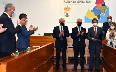 San Roque, presente en la entrega de la Medalla de la Mancomunidad a Vigilancia Aduanera