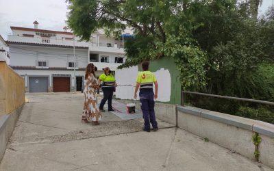 Una vez realizado el pintado interior de colegios durante el verano, Educación trabaja ahora en los exteriores