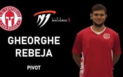 El pívot moldavo Gheorghe Rebeja se une al proyecto del CD Centurias de Primera Nacional