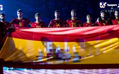 España, con Andrés Villena, pierde ante Finlandia su tercer partido del Campeonato de Europa de Voleibol