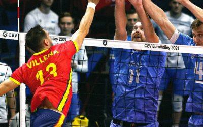 Andrés Villena ya está con la Selección en Finlandia para disputar el Eurovoley