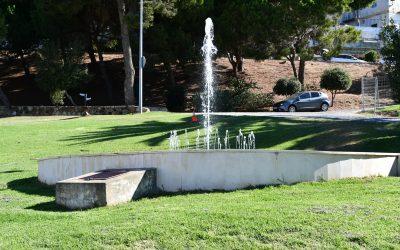 Emadesa lleva a cabo la mejora de las cinco fuentes originales del Parque de Los Cañones