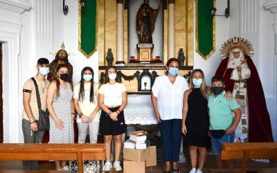El Grupo Joven de Oración en el Huerto recogió material escolar para las familias más necesitadas