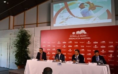 Presentado el Estrella Damm N.A. Andalucía Masters, que se celebrará del 14 al 17 de octubre en Valderrama