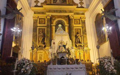 Finaliza el triduo en honor de la Divina Pastora, que no pudo salir en procesión por la pandemia