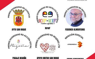 Delegación de Juventud y Apoyo Mutuo, premiados por Roja Directa