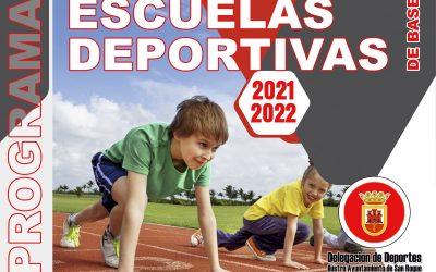 El lunes comienza el plazo de inscripción para las escuelas municipales en catorce modalidades deportivas