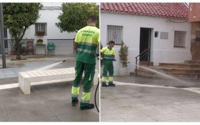 Limpieza Viaria realiza un nuevo repaso a las zonas más frecuentadas del municipio