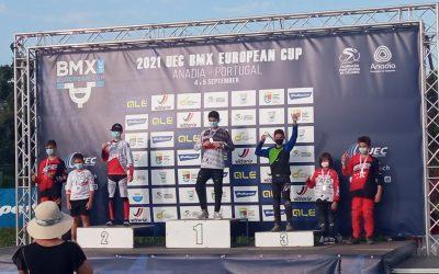 Iván Corral Ramos bronce en la Copa de Europa de BMX