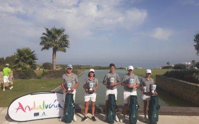 La Escuela Municipal de Golf La Cañada triunfa en el Campeonato de Andalucía Interclubs Infantil de Alcaidesa