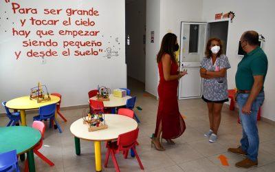 Visita a las guarderías de Bahía y Estación, Taraguilla y Miraflores, donde aún quedan plazas libres