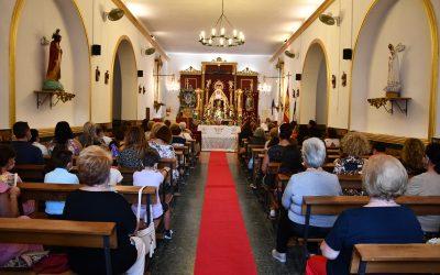 Celebrada la Solemne Eucaristía con motivo de la función principal del Triduo a Nuestra Señora de los Dolores, en la Estación de San Roque