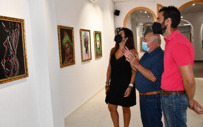 Inaugurada la exposición de Pedro Corral en el Espacio Joven