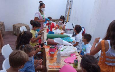 Bibliotecas finaliza las actividades de verano infantiles que ha desarrollado en el Museo Municipal