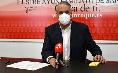 Ruiz Boix exige que los Presupuestos de la Junta incluyan al menos 80 millones para inversiones en San Roque