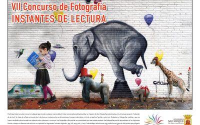 """El día 25 se cierra el plazo para presentar fotografías al VII Concurso """"Instantes de Lectura"""""""