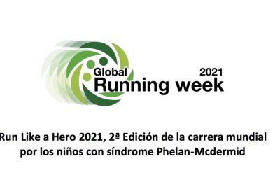 Participación Ciudadana anima a participar en una carrera virtual por los niños con síndrome Phelan-Mcdermid