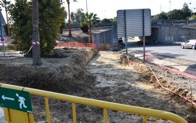 Satisfacción por el inicio de las obras en la parada de bus de Taraguilla