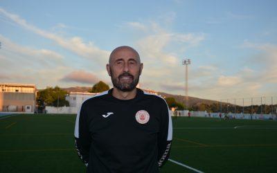 Pablo Sánchez, entrenador del CD San Roque, asegura que el equipo está en buen camino
