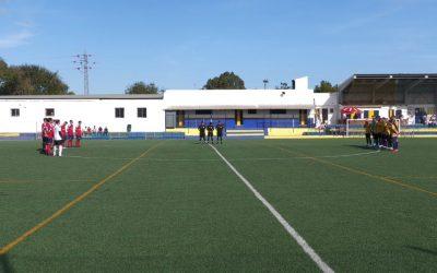 Reparto de puntos entre el CD San Bernardo y Ubrique UD (2-2)