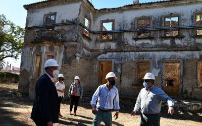 Comienzan las obras de recuperación del Parque La Rosaleda de Campamento