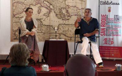 Realizada la sesión de cuentacuentos bilingüe sobre relatos de los pueblos mediterráneos